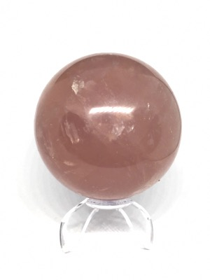 SPHERE QUARTZ ROSE 436 GR